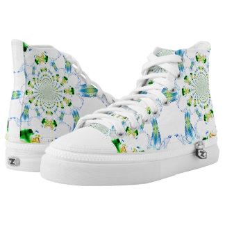 Custom Zipz High Top Shoes, Abstract Dream Catcher