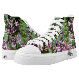 Custom Zipz High Top Shoes, US Men 4 / US Women 6