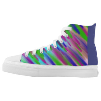 Custom Zipz High Top Shoes, US Men 4 / US Women 6 Printed Shoes