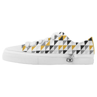 Custom Zipz Low Top Shoes for Man Printed Shoes