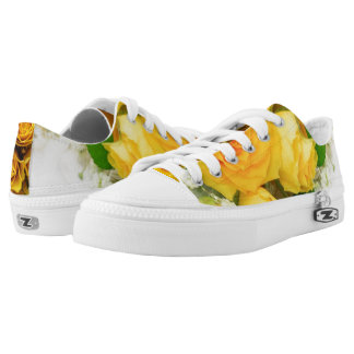 Custom Zipz Low Top Shoes, US Men 4 / US Women 6