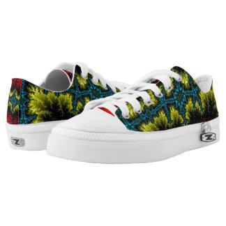 Custom Zipz Low Top Shoes, US Men 4 / US Women 6