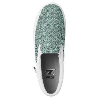 Custom Zipz Slip On Shoes - Modern Boho Printed Shoes