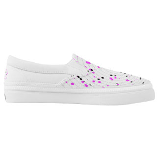 Custom Zipz Sneakers, Size 4 American of hombr Printed Shoes