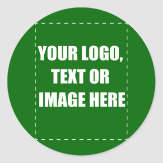 Custome Products Classic Round Sticker