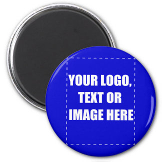 Custome Products 6 Cm Round Magnet