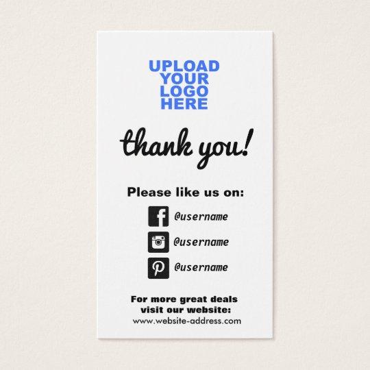 Customer appreciation social media icons zazzle customer appreciation social media icons reheart Image collections