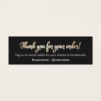 Thank you business card juvecenitdelacabrera thank you business card reheart Gallery