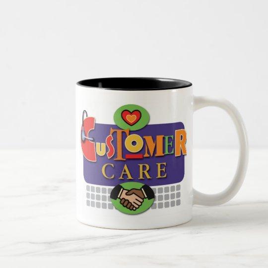 """Customer Care"" Mug"