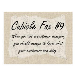 Customer Management Postcard