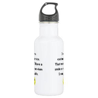 Customer Service Joke 532 Ml Water Bottle