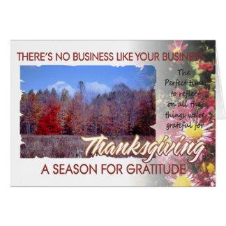 Customer Thanksgiving card 3rev