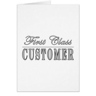 Customers First Class Customer Card