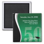 Customisable 50 Year Class Reunion Refrigerator Magnets