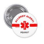 Customisable Allergy Alert Pin