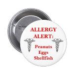 Customisable allergy button