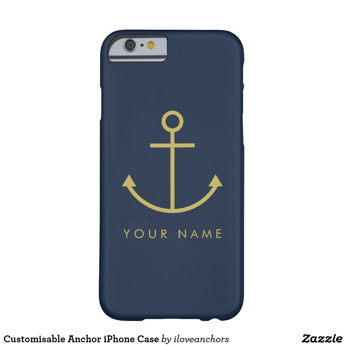 Customisable Anchor iPhone Case