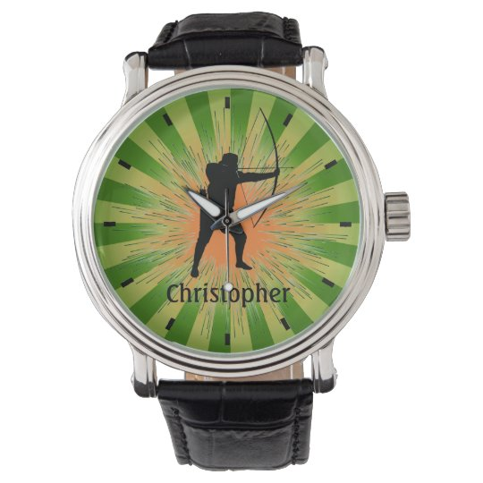 Customisable Archery Design Watch