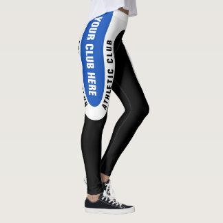 Customisable Athletics Club Leggings Version 3