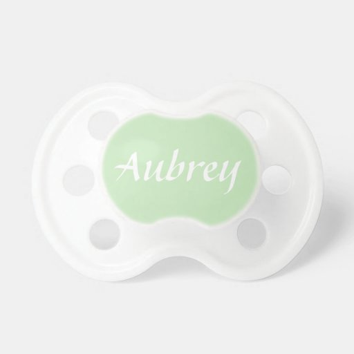 Customisable Baby Name Pacifier Dummy