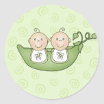 Customisable Baby Shower stickers
