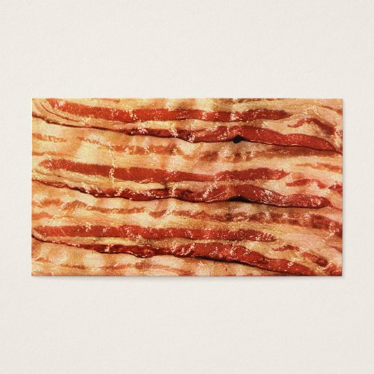 Customisable BACON business cards! Business Card
