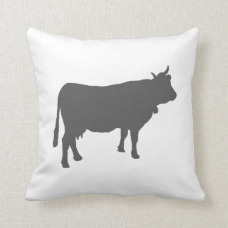 Customisable Barnyard Cow Pillow