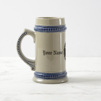 Customisable Beer Stein with Gumba Party Logo