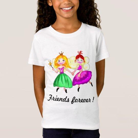 Customisable Best friends princess fairies T-Shirt