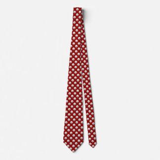 Customisable Bichon Frise Polka Dot Tie