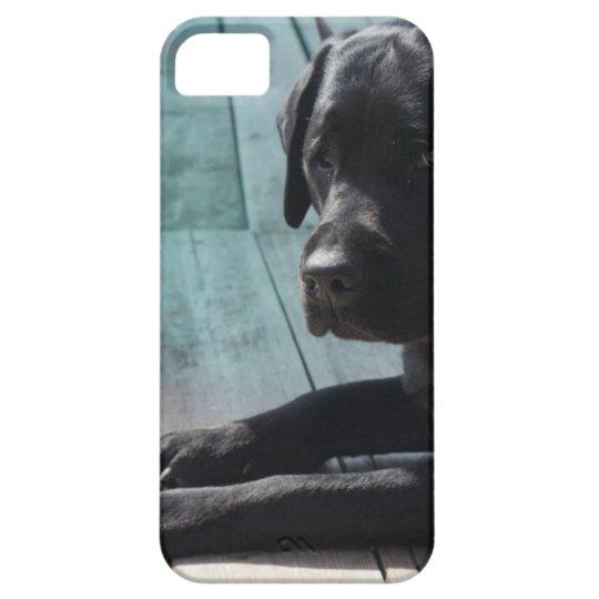 Customisable Black Labrador Retriever Case For The iPhone