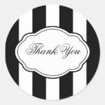 Customisable Black & White Sticker Label