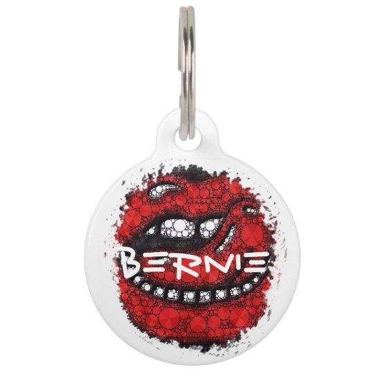 Customisable Bling Pet Collar Tags
