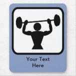 Customisable Bodybuilder / Weightlifter Logo