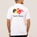 Customisable Bowling Jersey Polo