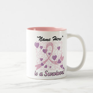 Customisable Breast Cancer Survivor Mug