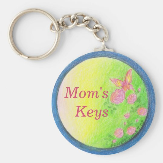 Customisable Butterfly Keychain