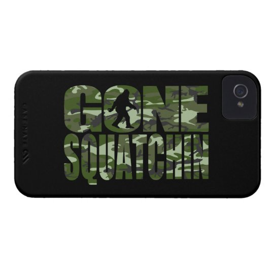 Customisable Camo Gone Squatchin iPhone 4 Cover