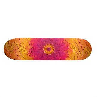 Customisable Carnation (Psychedelic spirograph) Skateboard