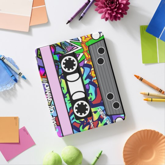 Customisable Cassette Tape iPad Cover