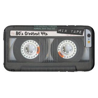 Customisable cassette tape tough iPhone 6 case