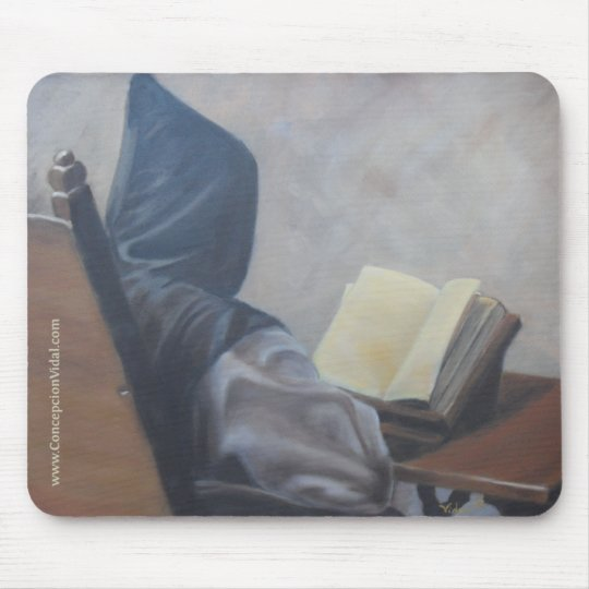 Customisable Catholic Monk mousepad