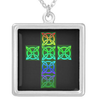 Customisable Celtic Cross Necklace