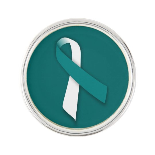 Customisable Cervical Cancer Lapel Pin