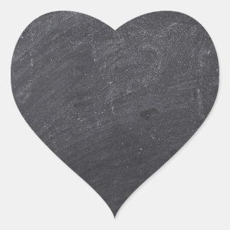 Customisable Chalkboard Background Heart Sticker