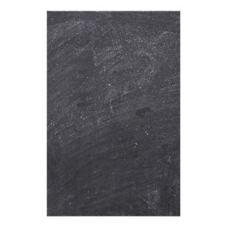 Customisable Chalkboard Background Stationery Paper