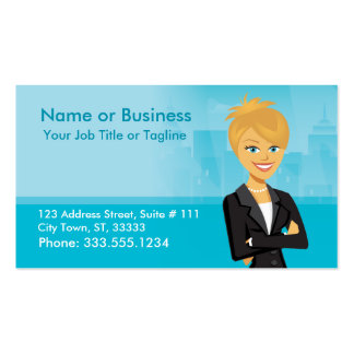 Customisable Character Business Card