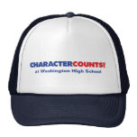 Customisable CHCARACTER COUNTS! Hat