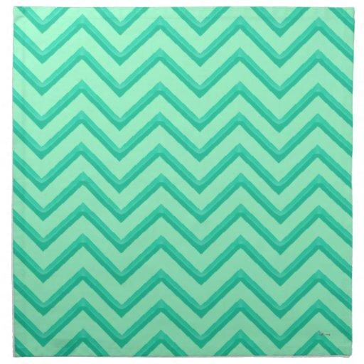 mint green chevron - photo #33