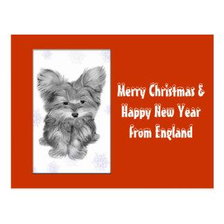 Customisable Christmas Greeting Cards Postcard